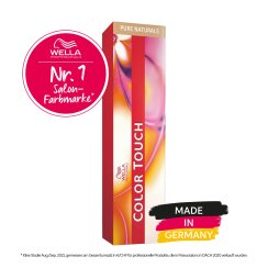 Wella Professionals Color Touch Pure Naturals 6/0 dunkelblond 60ml