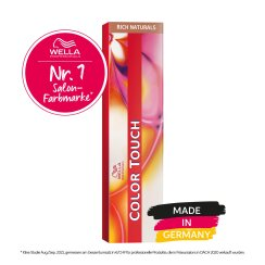 Wella Professionals Color Touch Rich Naturals 6/3 dunkelblond gold 60ml