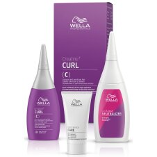 Wella Professionals Creatine+ CURL C/S HAIR KIT 75+100+30ml