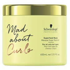 Schwarzkopf Mad About Curls Superfood Mask 650ml