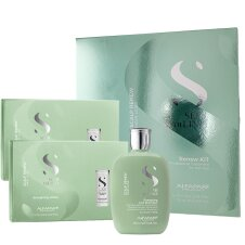 AlfaParf Milano Semi di Lino Scalp Renew Kit